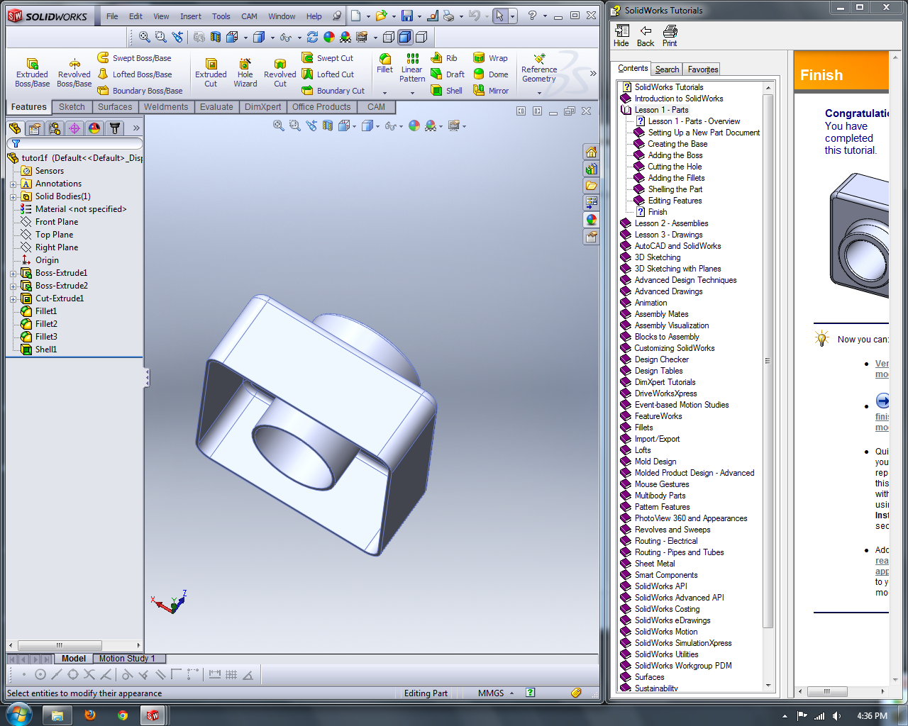 GadgetNate | What I Learned in SolidWorks today